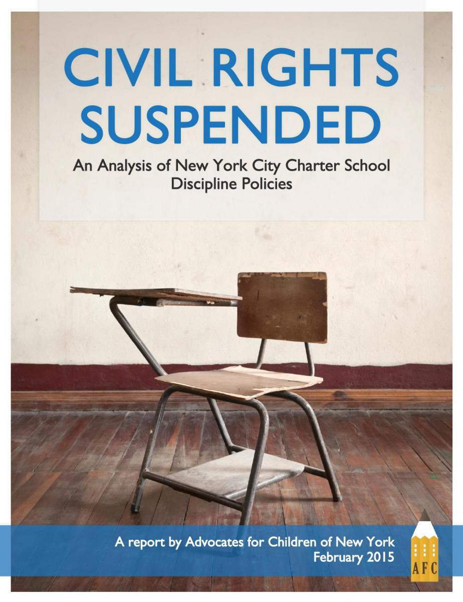 Civil Rights Suspended report cover